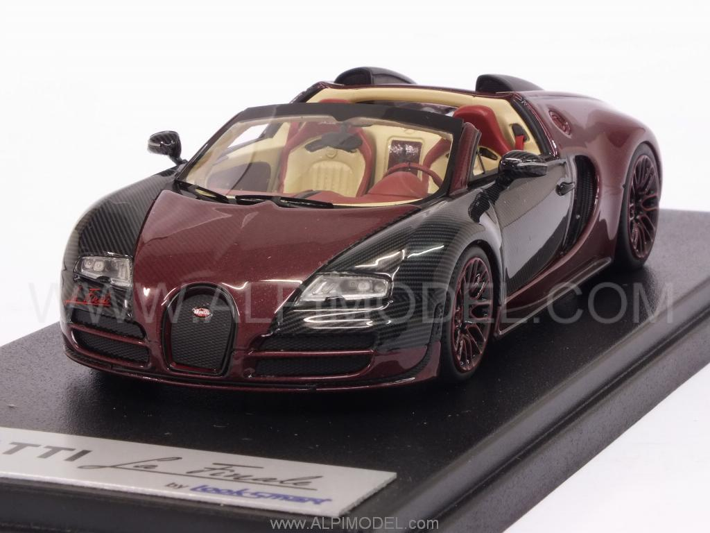 looksmart bugatti veyron 16 4 grand sport vitesse la finale 1 43 scale model. Black Bedroom Furniture Sets. Home Design Ideas