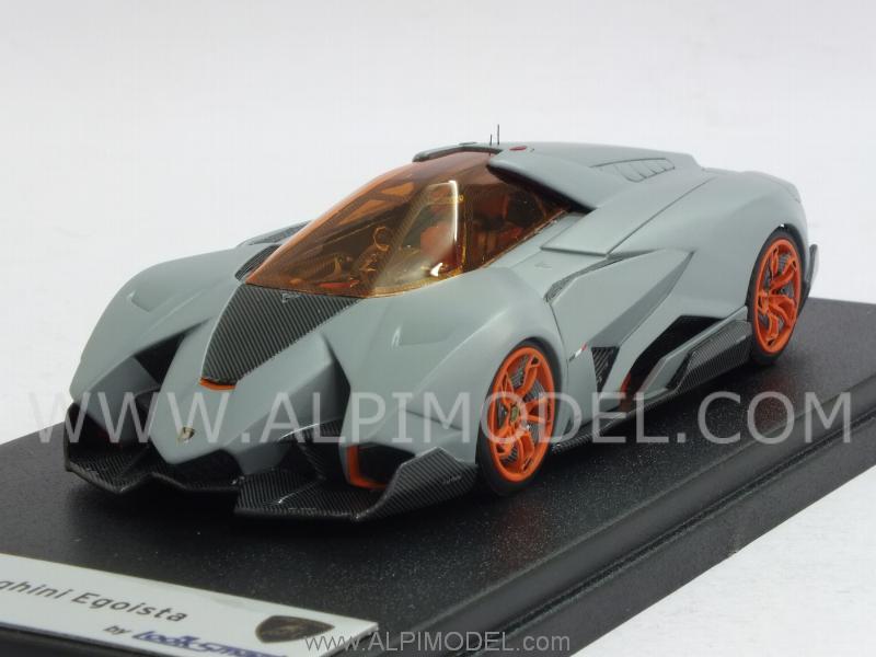 Looksmart Lamborghini Egoista Matt Grey 1 43 Scale Model