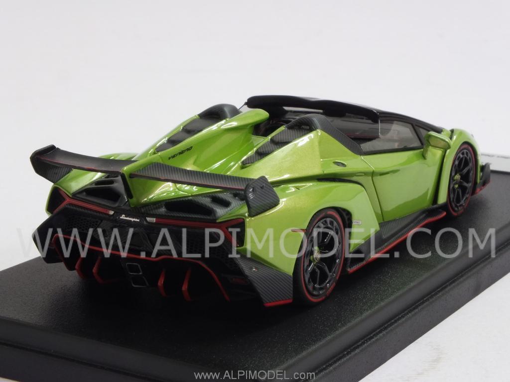 looksmart Lamborghini VENENO ROADSTER 2014 (Ithaca Green ...