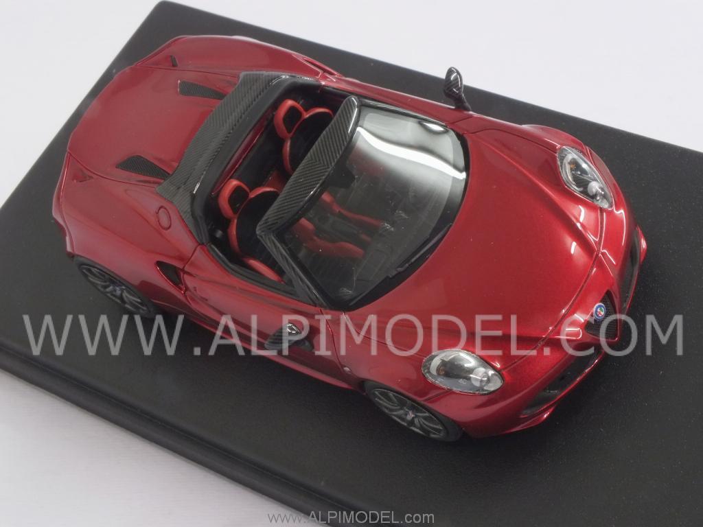 Looksmart Alfa Romeo 4c Spider Salon Geneve 2014 Rosso
