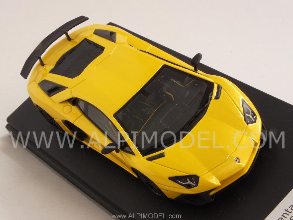 Lamborghini Aventador LP750-4 SUPERVELOCE (New Orion Yellow Bia) by LSM
