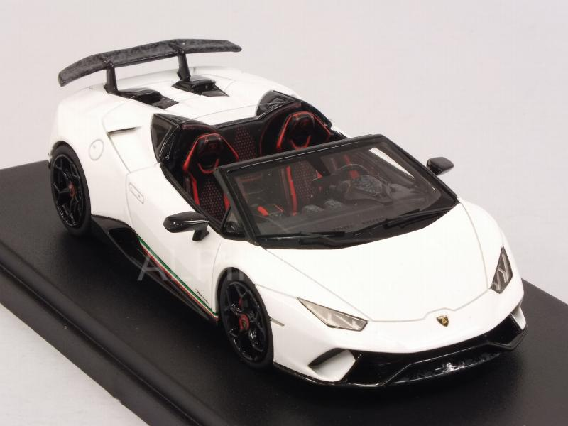 Lamborghini Huracan Performante Spyder 2018 (Bianco Monocerus) by LSM