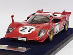 Ferrari 512S #27 24h Daytona 1970 Ickx - Schetty  (with display case) by LOOKSMART