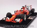 Ferrari SF15-T Winner GP Malaysia 2015 Sebastian Vettel  (with display case/con vetrinetta) by LOOKSMART