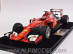 Ferrari SF15-T GP Bahrain 2015  Kimi Raikkonen (with display case/con vetrinetta) by LOOKSMART