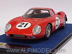 Ferrari 250 (275) LM #21 Winner Le Mans 1965 Gregory - Rindt  (with display case/con vetrinetta) by LOOKSMART