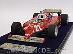 Ferrari 126 CK #27 Winner GP Monaco 1981 Gilles Villeneuve by LOOKSMART