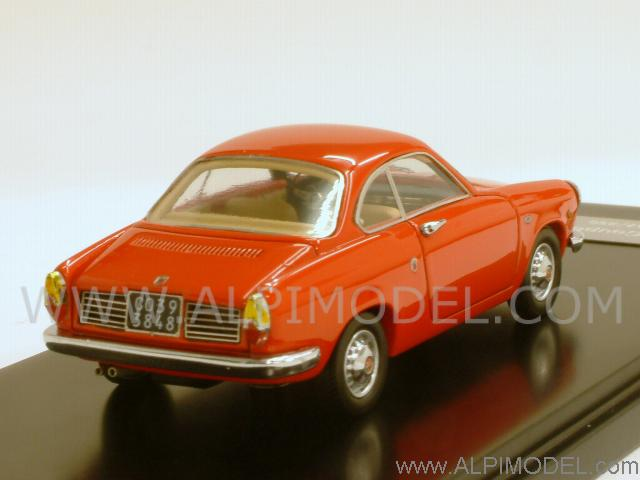 Lux B Fiat Abarth 850 Coupe Scorpione 1959 Red 1 43