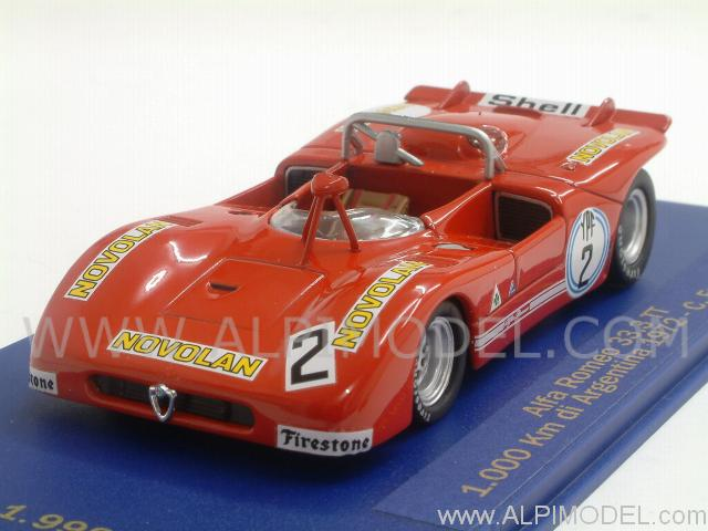 Alfa Romeo 33  1000km Argentina 1972 Facetti By M4