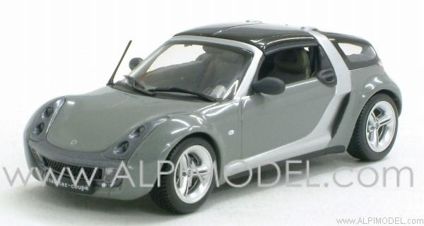 minichamps smart roadster coupe glance grey smart. Black Bedroom Furniture Sets. Home Design Ideas
