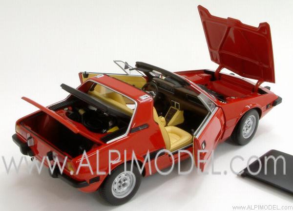 Fiat X1 9 >> minichamps Fiat X1/9 1974 Red (1/18 scale model)