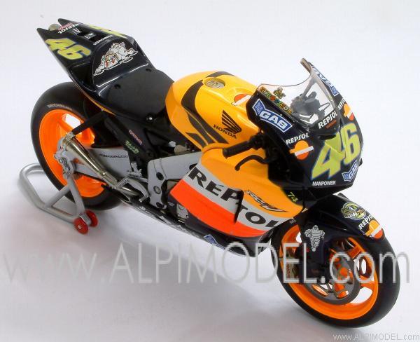 minichamps Honda RC211V Repsol Honda Team - WORLD CHAMPION MOTOGP 2003 VALENTINO ROSSI (1/12 ...
