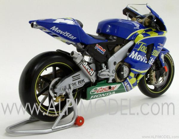 minichamps Honda RC211V MotoGP 2003 Team Telefonica Movistar Gresini - Daijiro Katoh (1/12 scale ...