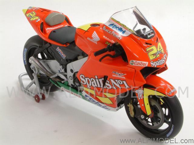 minichamps Honda RC211V Team Spain's #1 MotoGP 2006 Toni Elias (1/12 scale model)