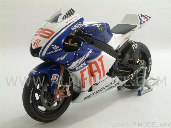 minichamps Yamaha YZR-M1 MotoGP 2009 Jorge Lorenzo (1/12 scale model)
