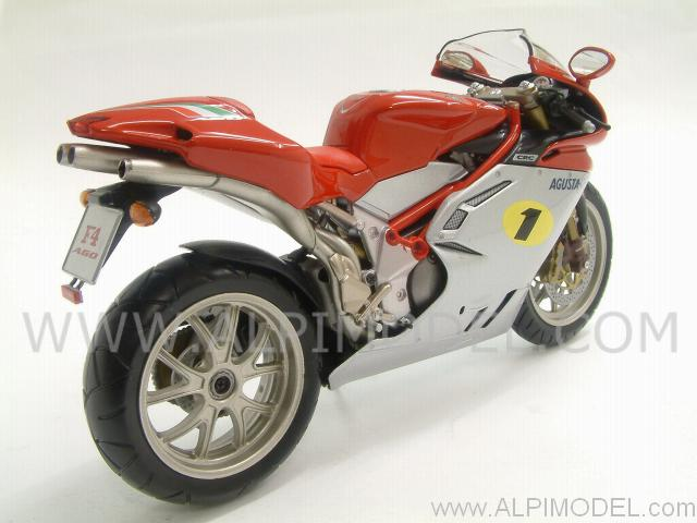 minichamps mv agusta f4 1000 ago 2004 1 12 scale model. Black Bedroom Furniture Sets. Home Design Ideas