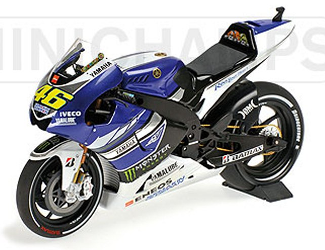 minichamps Yamaha YZR-M1 Factory Racing MotoGP 2013 Valentino Rossi (1/12 scale model)