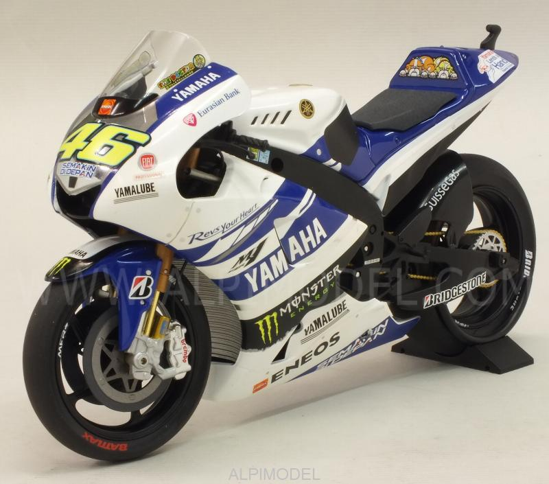 minichamps Yamaha YZR-M1 Yamaha Factory Racing Testbike MotoGP 2014 Valentino Rossi (1/12 scale ...