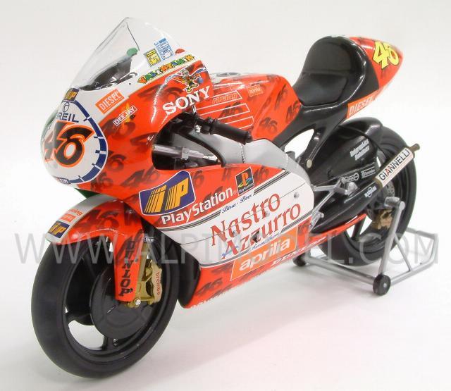 Aprilia 250 CCM Valentino Rossi Imola GP 1999 1:12 Model MINICHAMPS