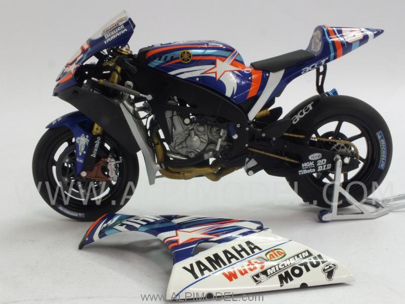 minichamps Yamaha YZR-M1 MotoGP Laguna Seca 2007 Colin Edwards - Special Limited Editiion 550pcs ...