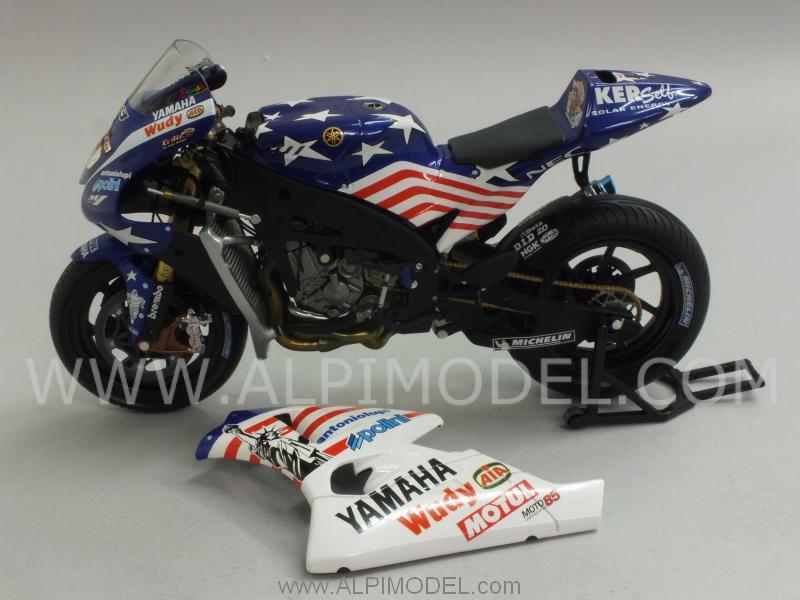 minichamps Yamaha YZR-M1 Team Tech-3-MotoGP Laguna Seca 2008 Colin Edwards - Special Limited ...