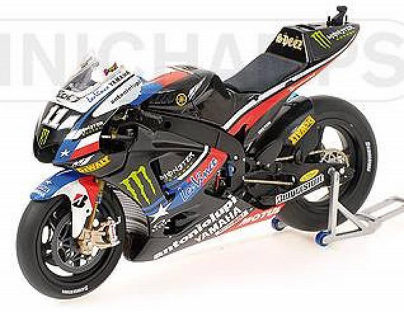 minichamps Yamaha YZR-M1 MotoGP Indianapolis 2010 Ben Spies - Special Edition (1/12 scale model)