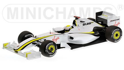 minichamps Brawn GP BGP 001 World Champion 2009 Jenson ...
