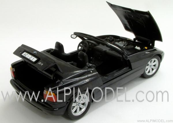 minichamps bmw z1 1988 black 1 18 scale model. Black Bedroom Furniture Sets. Home Design Ideas
