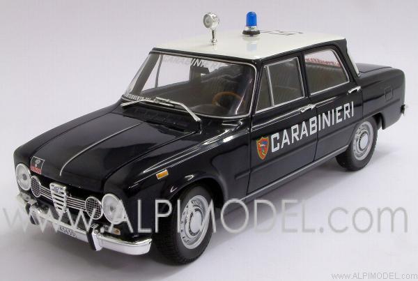 Minichamps Alfa Romeo Giulia Ti Carabinieri 1970 1 18