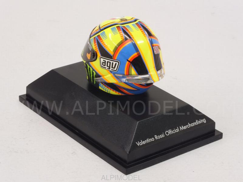 minichamps Helmet AGV MotoGP Qatar 2014 Valentino Rossi (1/8 scale - 3cm) (1/8 scale model)