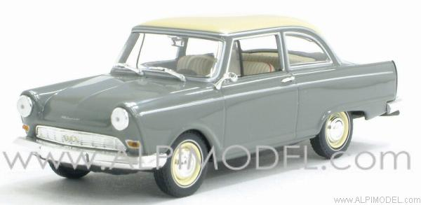 minichamps dkw junior de luxe 1961 remo grey 1 43 scale. Black Bedroom Furniture Sets. Home Design Ideas