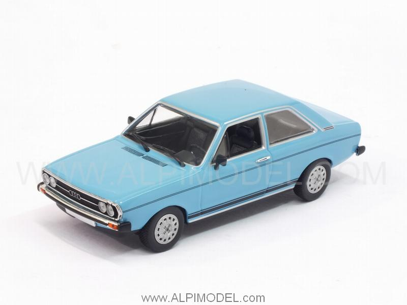 Minichamps Audi 80 Gt 1972 Miami Blue 1 43 Scale Model