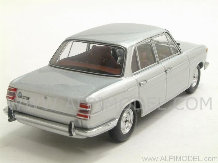 minichamps bmw 1800 tisa 1965 polaris silver 1 43 scale model. Black Bedroom Furniture Sets. Home Design Ideas