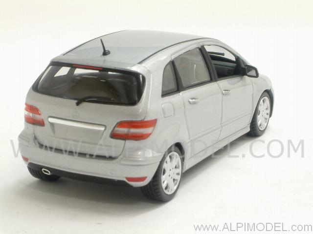 minichamps mercedes b class 2007 polaris silver 1 43 scale model. Black Bedroom Furniture Sets. Home Design Ideas