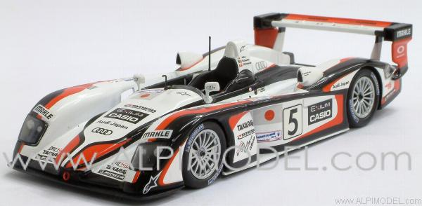 Minichamps Audi R8 Winner 24h Le Mans 2004 Ara Capello