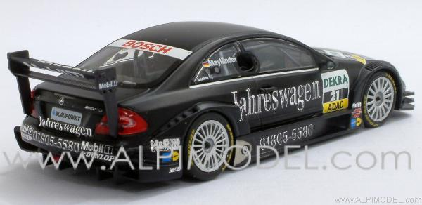 minichamps mercedes clk jahreswagen team rosberg dtm 2004 bernd maylander 1 43 scale model. Black Bedroom Furniture Sets. Home Design Ideas