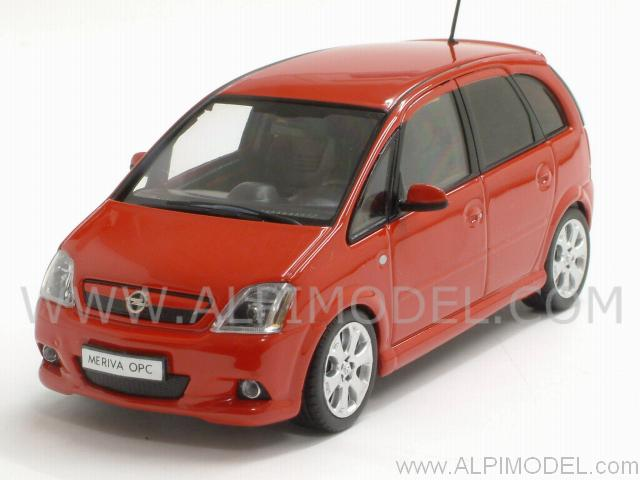 minichamps 400046000 opel meriva opc 2006 red 1 43. Black Bedroom Furniture Sets. Home Design Ideas