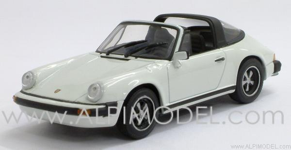 minichamps porsche 911 targa 1977 grand prix white 1 43. Black Bedroom Furniture Sets. Home Design Ideas