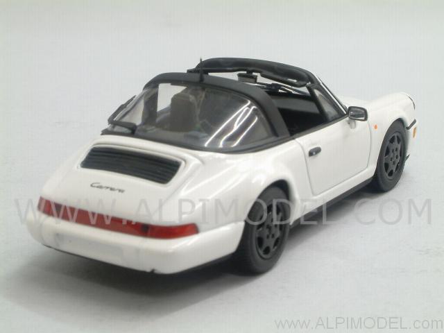 minichamps porsche 911 targa 1991 gran prix white 1 43. Black Bedroom Furniture Sets. Home Design Ideas