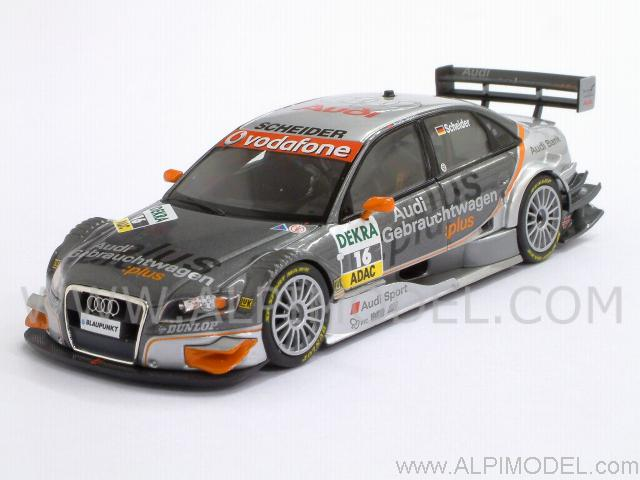 minichamps audi a4 gebrauchtwagen plus t scheider dtm. Black Bedroom Furniture Sets. Home Design Ideas