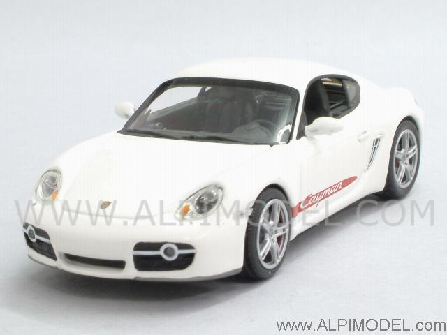 minichamps porsche cayman s 2005 grand prix white 1 43 scale model. Black Bedroom Furniture Sets. Home Design Ideas