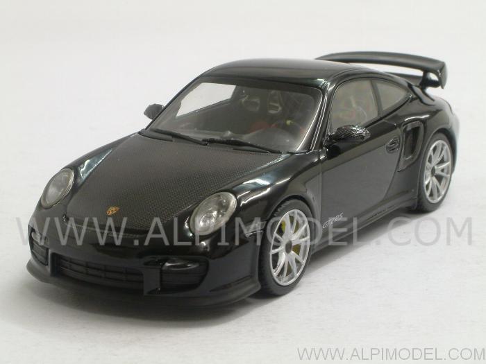 minichamps porsche 911 997 ii gt2 rs 2010 black 1 43 scale model. Black Bedroom Furniture Sets. Home Design Ideas
