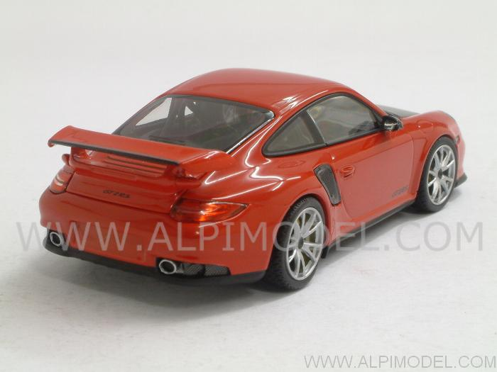 minichamps porsche 911 gt2 rs 997 ii 2010 indian red 1 43 scale model. Black Bedroom Furniture Sets. Home Design Ideas