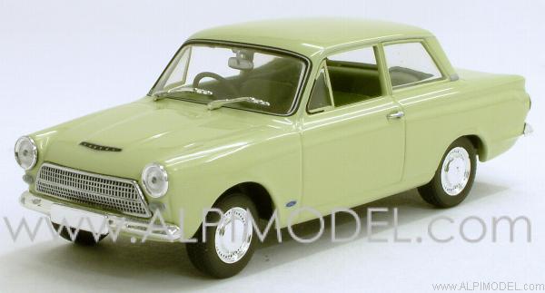 Minichamps Ford Cortina Mk1 1962 Lime Green 1 43 Scale