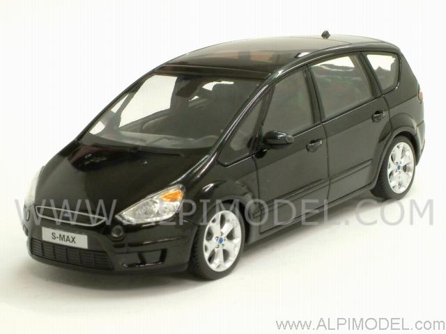 minichamps ford s max 2006 black metallic 1 43 scale model. Black Bedroom Furniture Sets. Home Design Ideas