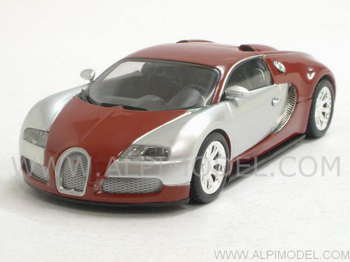 Bugatti Veyron Red Chrome