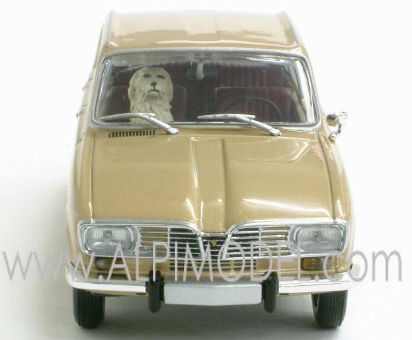 yellow Minichamps 1:43 Renault 16-1965