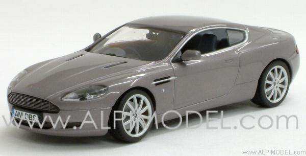 Minichamps Aston Martin DB9 2003 Oyster Silver 143