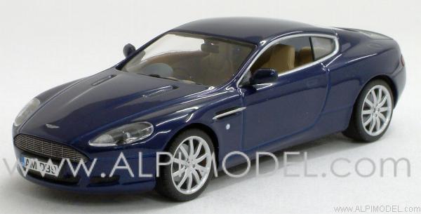 Minichamps Aston Martin Db9 2003 Midnight Blue 1 43 Scale Model