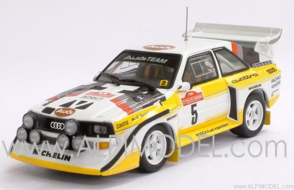 Minichamps Audi Sport Quattro S1 Winner Rally Sanremo 1985
